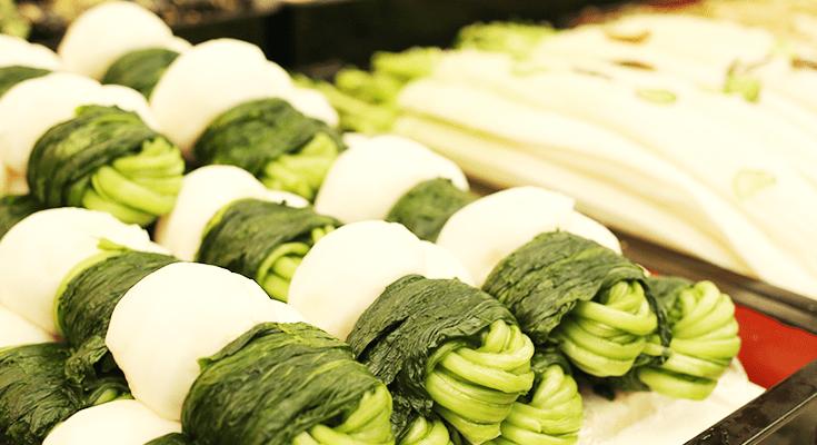 漬物の三要素である「野菜・塩・重し」